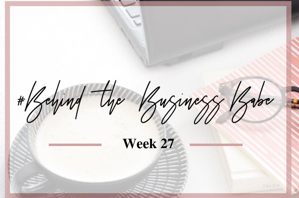 #behindthebusinessbabe week 27: visite, energie sparen en gelukkg in Nederland