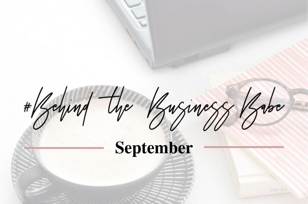 Monthly Update – September